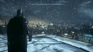 Batman  Arkham Knight- View of the City in the Snow