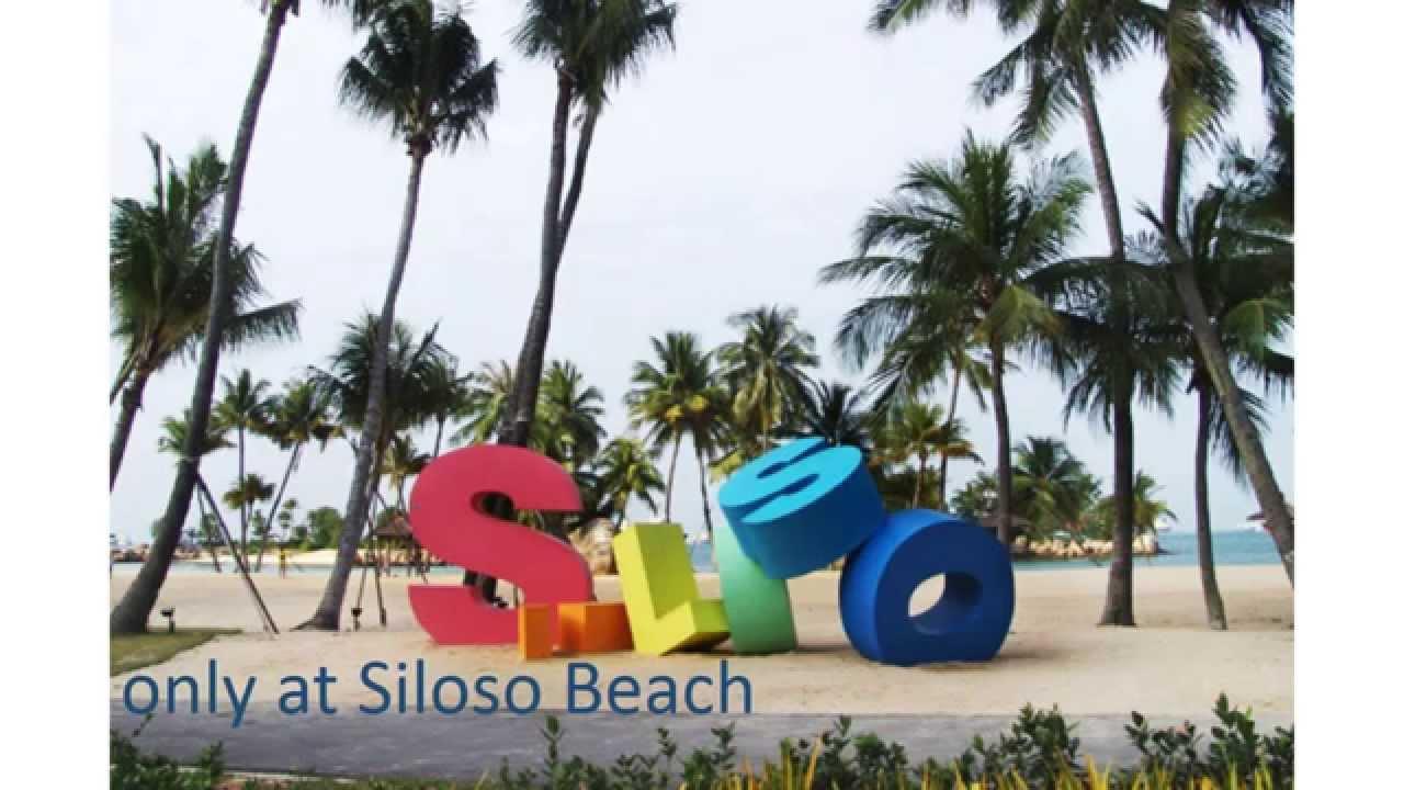 Hotel siloso beach resort sentosa singapore youtube - Siloso beach resort swimming pool ...