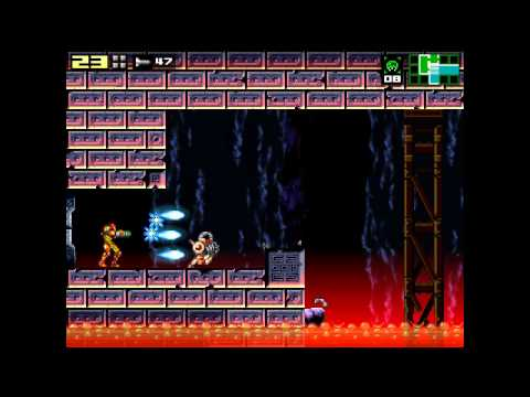 Another Metroid 2 Remake (AM2R Demo v1.4) Hard Mode 100% Playthrough