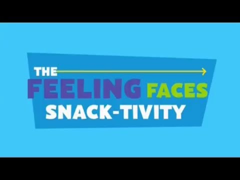 PBS Kids: The Really Really Awesome Activity Challenge - Feeling Faces Snack-tivity (2017)