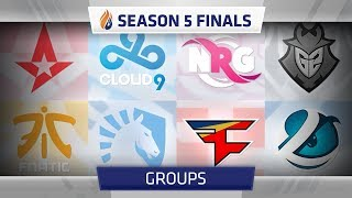 ECS Season 5 Finals Groups: How were they decided?