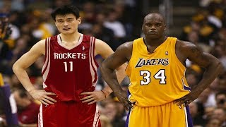 Download Video Every Yao Ming and Shaq 3 Pointer of Their Careers MP3 3GP MP4