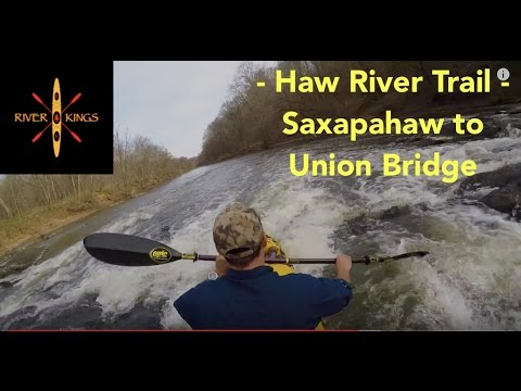 Haw River Trail Kayaking - River Guide Series - Saxapahaw to Union Bridge 7 of 11