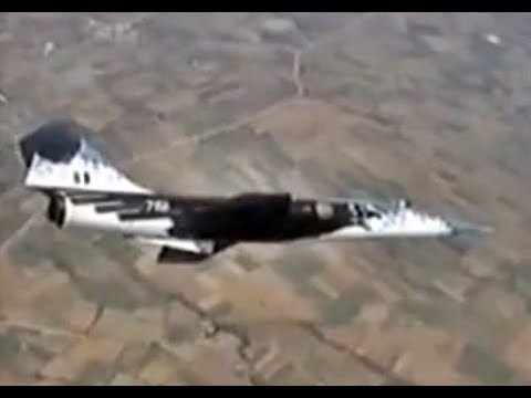 Hellenic Air Force F-104G Starfighter Mount Olympus 1992