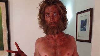 Chris Hemsworth Shows Off Scary Slimdown for