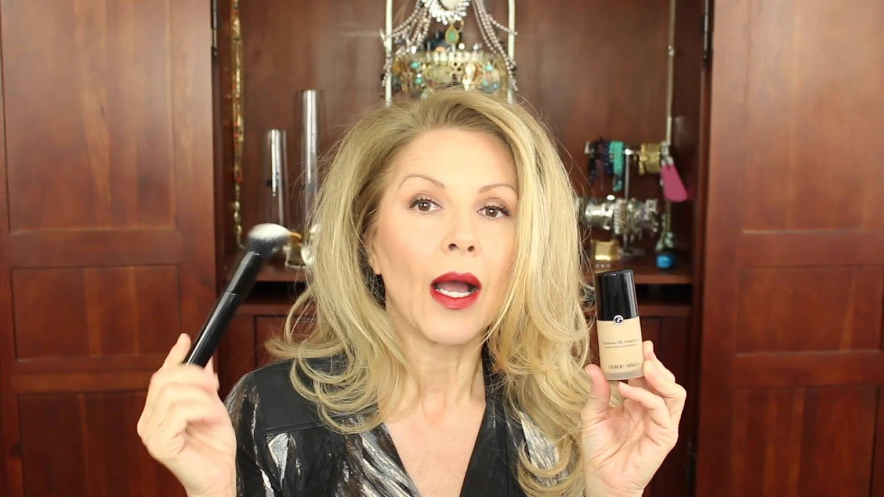 top five foundations for my mature skin - youtube