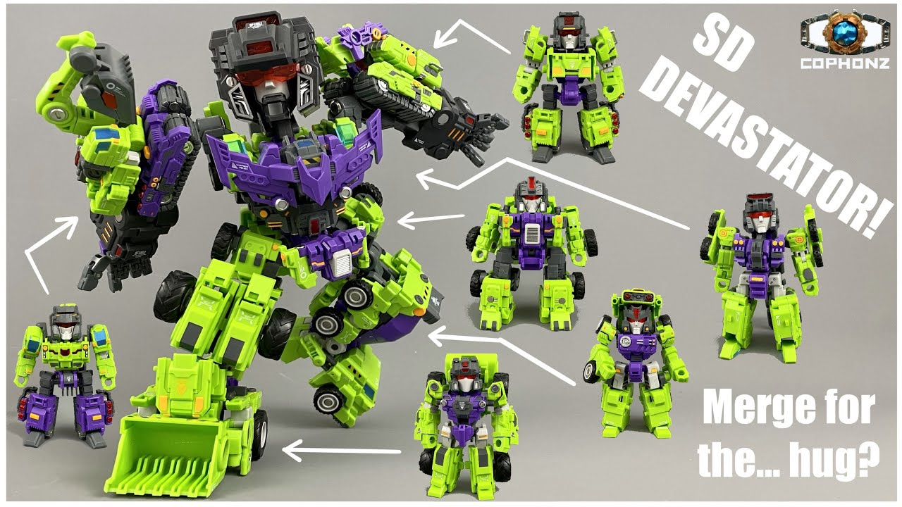 No Words Review: Master Made Demolisher (SD Devastator!) by cophonz