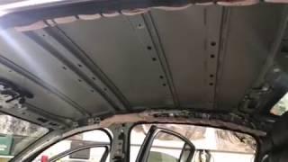 С завода производитель Мазда клеят совсем малую часть шумки на крышу или вовсе нет