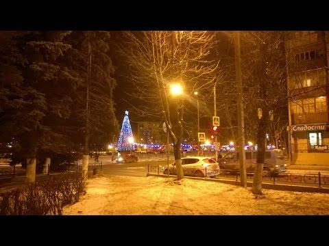 Новогодний Коллаж города Конаково 30.12.2015