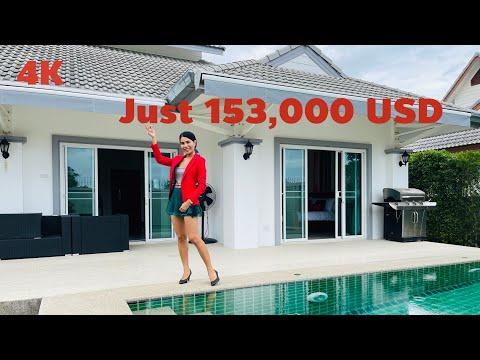 Emerald Resort Great Value 3 Bed Pool Villa Hua Hin Thailand 4.9 million Baht