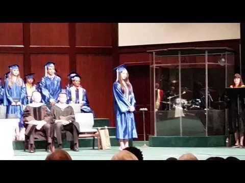 Araxi's Graduation - Class of 2016 ? Highlands Christian Academy