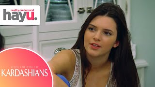 Young Kendall & Kylie Want to Drop Out of School | Keeping Up With The Kardashian
