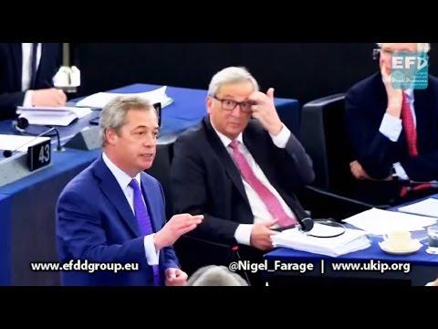 Nigel Farage - EFDD - UKIP Group - EU Parliament Speech 05/04/2017