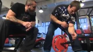 видео Армрестлинг упражнения
