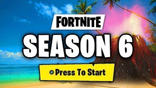 FORTNITE SEASON 6 NEW MAP, NEW SKINS, BATTLE PASS THEME, CUBE LEAKS, LOOT LAKE IN FORTNITE SEASON 6