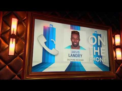 Miami Dolphins WR Jarvis Landry Talks Ryan Tannehill & Jay Ajayi - 10/28/16