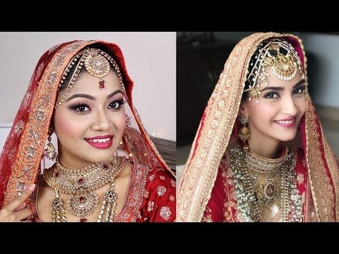 Sonam Kapoor Wedding Makeup Tutorial