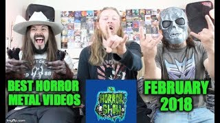 Best Horror Metal Music Videos: February 2018 - CROSSING THE STREAMS With CHIRON