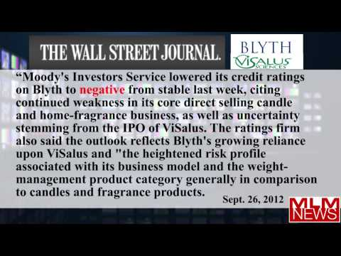 Blyth Visalus Scam? Visalus IPO Securities Laws Vilations, Lawsuits, Credit Downgraded
