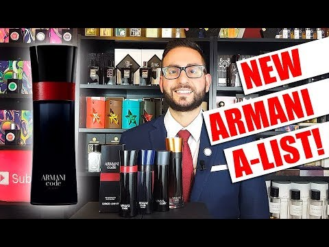 Armani Code A List Cologne Fragrance Review Youtube