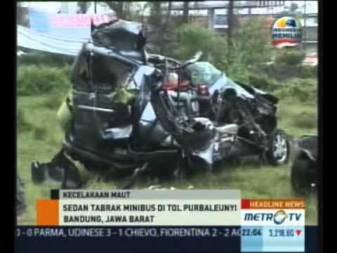 Lima Orang Tewas Kecelakaan di Tol Padaleunyi