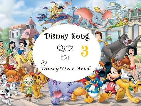 Disney Song Quiz 3 (Italian Version)