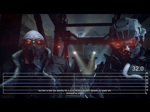 Killzone: Shadow Fall PS4 Single-Player Frame-Rate Tests