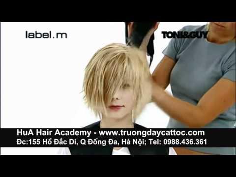 Dạy cắt tóc nữ ngắn đẹp, cắt tóc nghệ thuật - www.truongdaycattoc.com