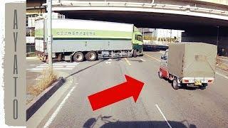 大型トラックを 助けてくれた軽トラが カッコよすぎる thumbnail