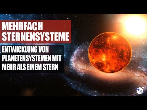 Mehrfachsternensysteme - Entwicklung von Planetensystemen mit mehr als einem Stern