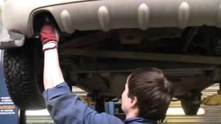 Замена гофры, и средней задней части глушителя на Daewoo Matiz(, 2013-04-15T15:22:29.000Z)