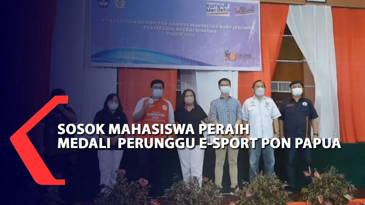 Sosok Mahasiswa Peraih Medali  Perunggu E-Sport Pon Papua