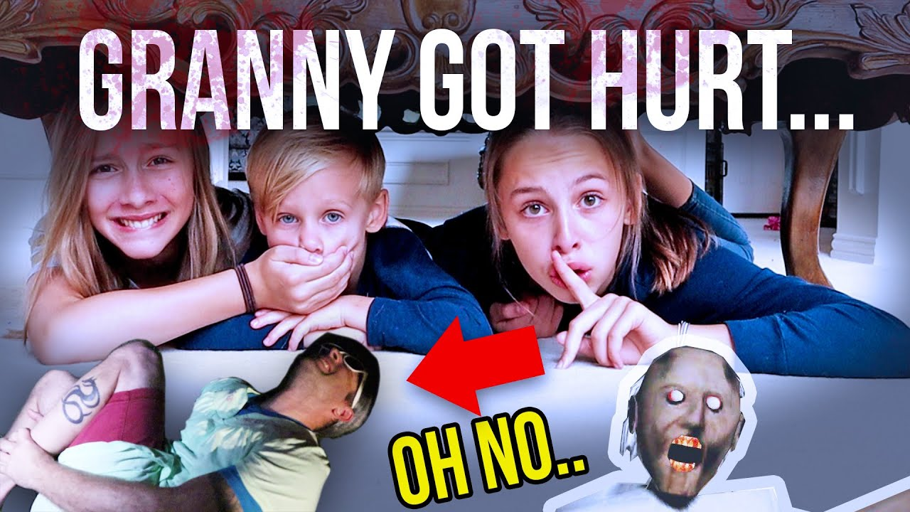 Escape GRANNY'S House...Granny GOT HURT!!