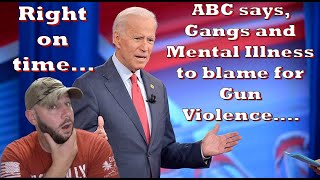 ABC says Gangs and Mental illness are the cause of Gun Violence?... Right on time for the Dems...