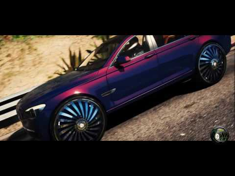 Grand Theft Auto 5 Donk Mod Real Dub Floaters Custom Whips 2011 BMW 760 30s Hd 1080p