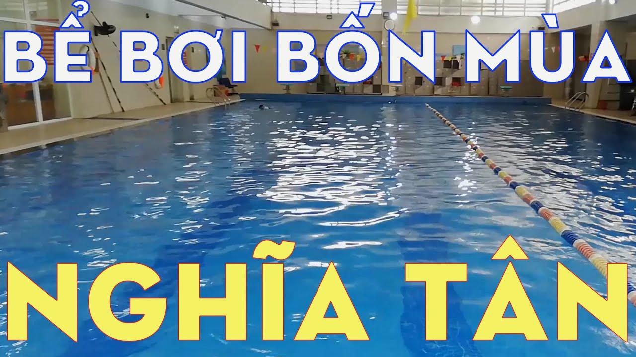 Khám phá Bể bơi bốn mùa Nghĩa Tân