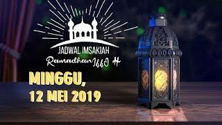 Gambar cover Jadwal Imsak dan Buka Puasa Minggu 12 Mei 2019 Bulan Ramadan 1440 H