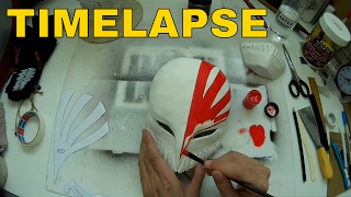 Timelapse - Bleach Ichigo Hollow Mask DIY Cosplay