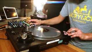 "Skratch Bastid & Chris Karns - ""Long Train Runnin"" Doobie Brothers routine"