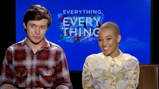 'Everything, Everything' Young Love Interview