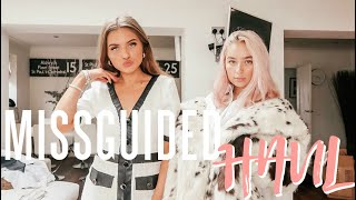 Huge COLLEGE clothing haul from Missguided TRY ON HAUL ad