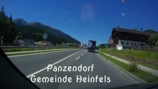 Fahrt mit Autocam Sillian-Lienz-Sillian