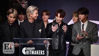 BTS Honoured At Variety's Hitmakers Brunch