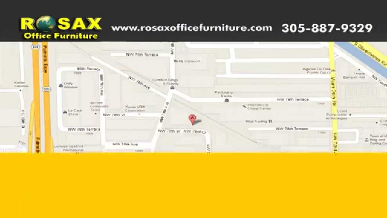 New Used Office Furniture In Miami Rosax Delivers To All Of
