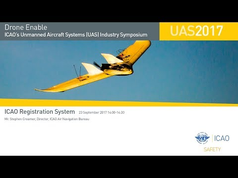 #DroneEnable ICAO Registration System