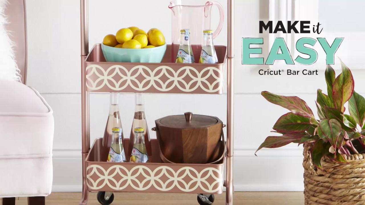 DIY Cricut Bar Cart | Michaels
