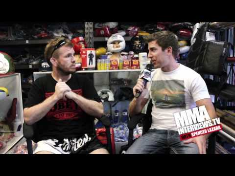 Spencer Fisher Says Trilogy Fight At UFC On FX 4 Against Sam Stout Will Be His Retirement Fight