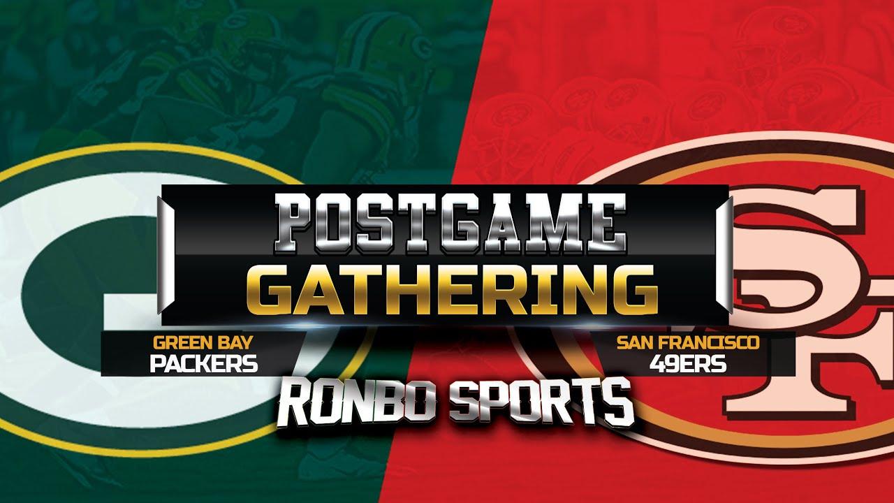 Download San Francisco 49ers vs Green Bay Packers Week 3 2021 Postgame Fans Gathering