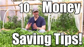 10 Money & Resource Saving Tips for Gardeners (Featuring Chris Towerton on Permaculture Swales)