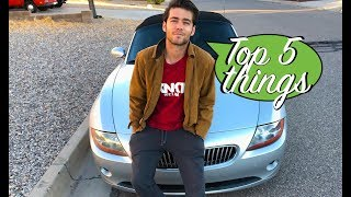 🇩🇪Top 5 Things I love about my BMW Z4 SMG (+5 more)